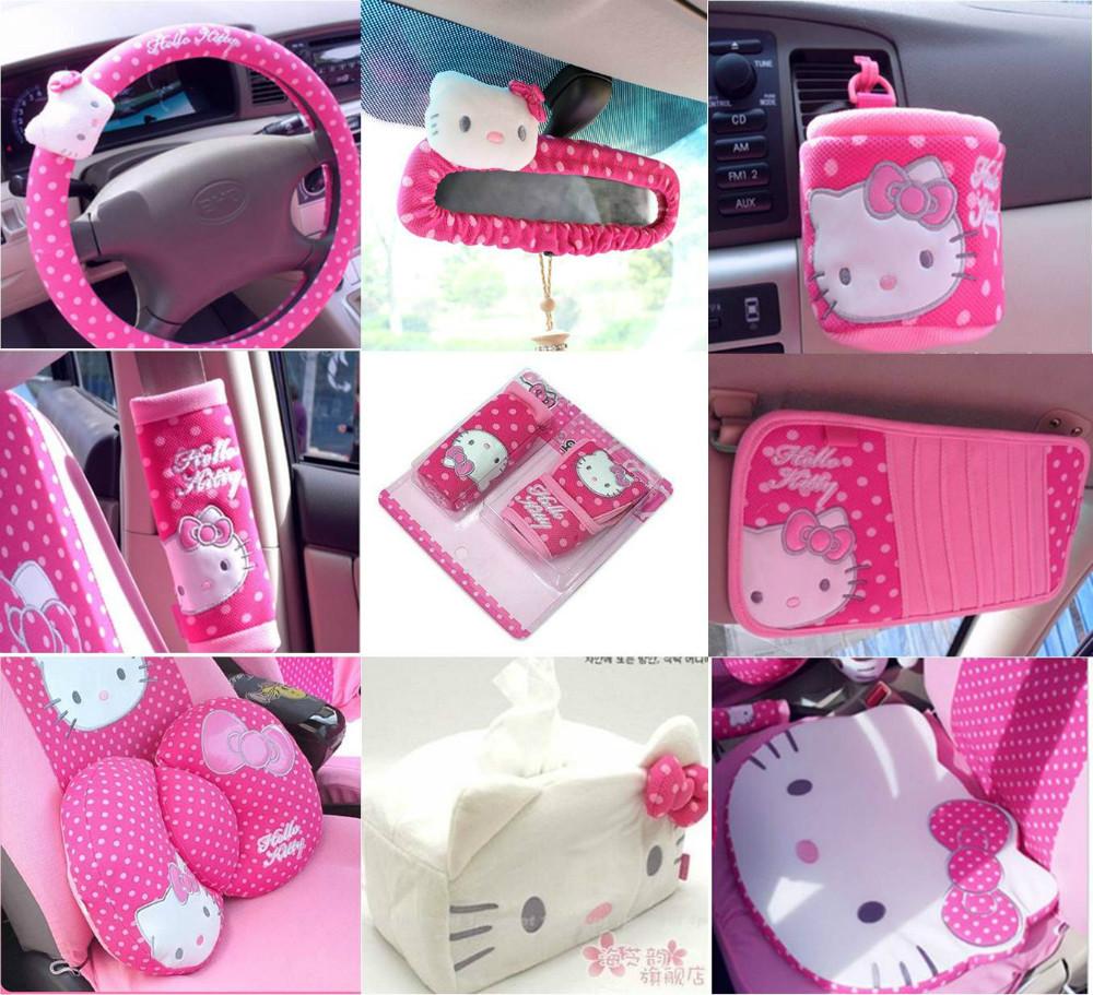 Popular hello kitty car interior aliexpress - Hello kitty car interior accessories ...