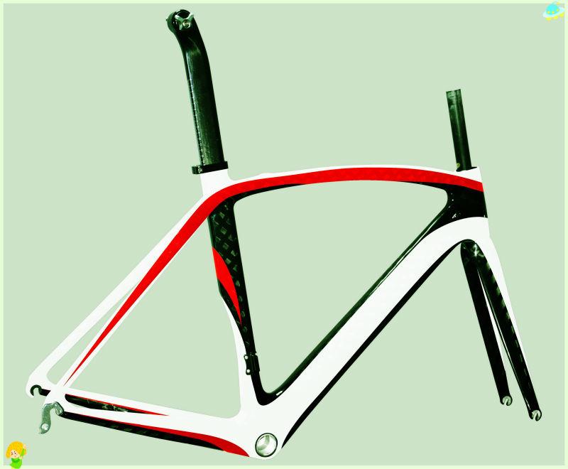 dengfu oem de carbono bicicleta de carretera cuadro por parte de ...