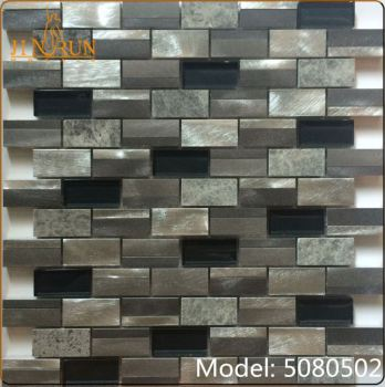 White Glass Highlighter Tiles For Kitchen Wall Mosaico