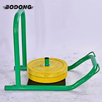 high quality gym equipment strength training fitness weight sled with pads