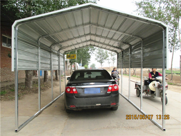 Metal Roof Carports Garages : Carport in garden used steel garage and shed buy