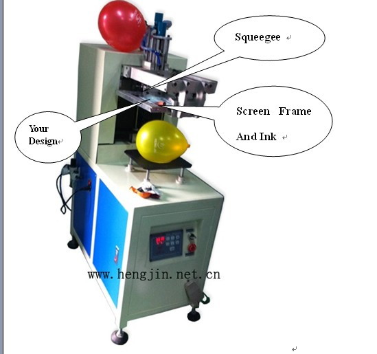 Balloon Printing Machine Gift In Balloon Machine