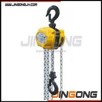 best sale product chain block, 0.5 ton chain block hoist