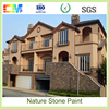 Washable and not fade climate and mildew resistant low VOC removable exterior rough texture brick paint