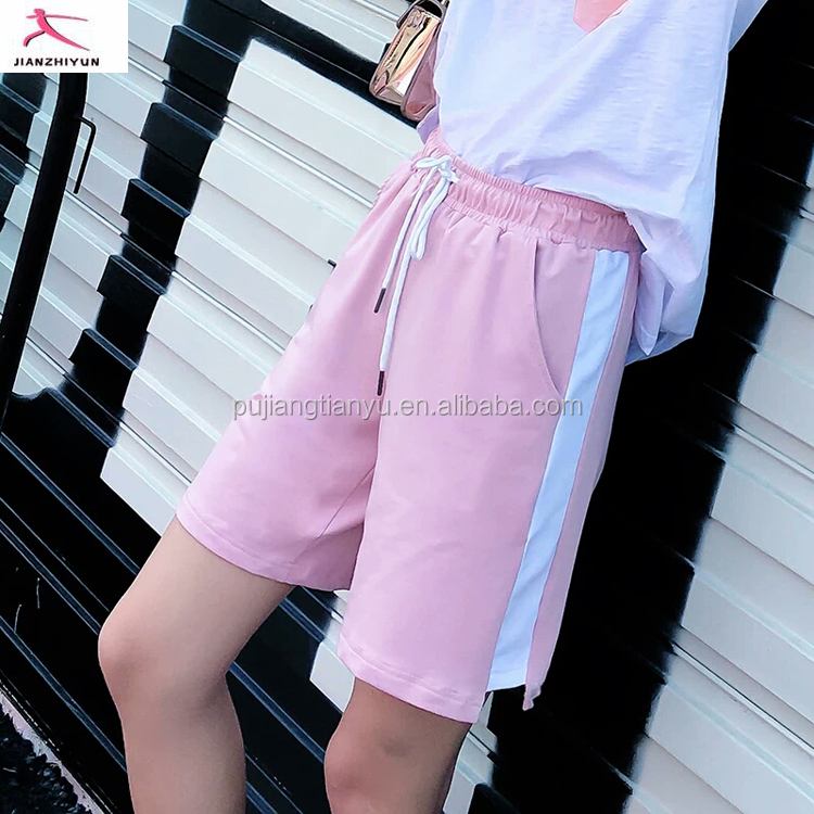 Custom Cotton Sports Shorts Women Casual Fashion Style Gym Casual Fashion Style