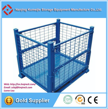 Metal Box Pallet Used Steel Cargo Containers For Sale