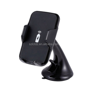 Wireless Qi Cell Phone Charger Put to go Car Charging Mount Holder Cradle Car Wireless Charger for Samsung iPhone