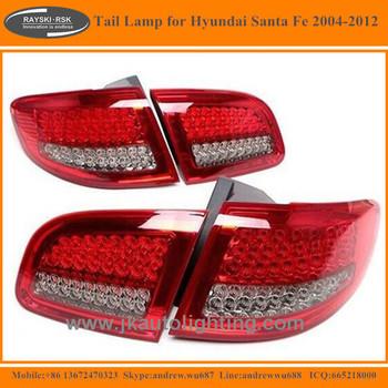 High Quality Led Tail Lamp For Hyundai Santa Fe Best Ing Lights Honda