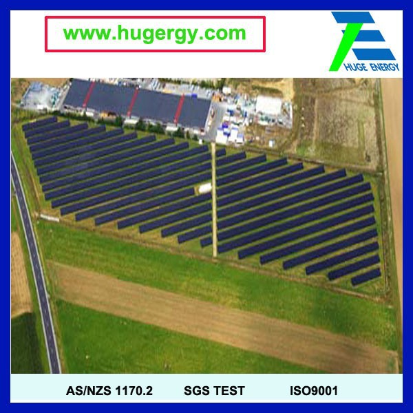 solar pv panel ground mounting system EPC