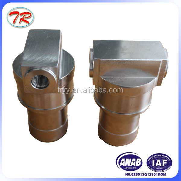 High quality hydraulic system aviation YL-34 inox oil filter housing