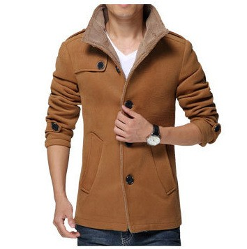 2016 Latest Design Japanese Shearling Winter Coat For Men