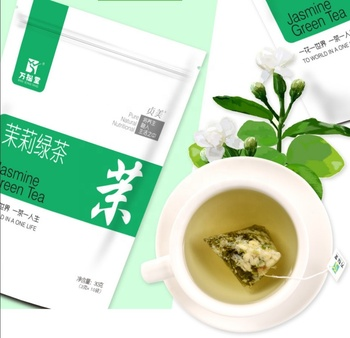 Free Sample OEM organic herbal instant tea Jasmine green tea for tea bags