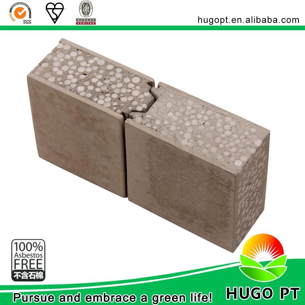 Insulated Construction Materials Waterproof Prefab Wall Panels Uk ...