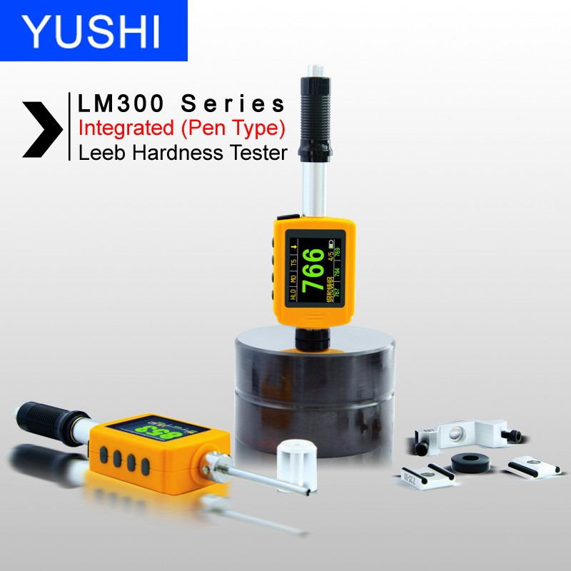 LM300 Test at any angle even upside down Portable Hand Held Leebs Metal Hardness Testers