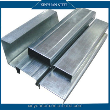 Q195 drywall galvanized drywall metal steel studs price for Drywall delivery cost