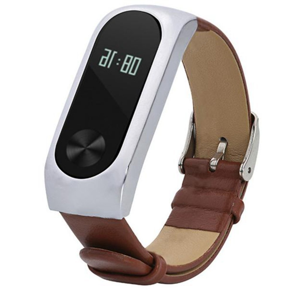 1PC Watch Band For Xiaomi Mi Band 2 Watch Usstore Perfect work well Wrist Band Replacement Leather Bracelet Band Strap