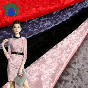 cheap price velboa printed wholesale dress cloth material upholstery velvet fabric