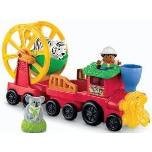 Toy / Game Super Fisher-Price Little People Zoo Talkers Animal Sounds Zoo Train for Fun Sound Effects And Music
