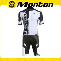 wholesale men's cycling jerseys shorts short sleeve bicycle sets Cycling Wear bike clothes Monton wear