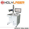 Fiber laser marking machine for marking on rings , on silver, gold from HOLY LASER