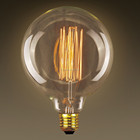Decor Creative vintage tungsten filament light edison bulb e27 b22 G80 G95 G125 incandescent retro table lamp