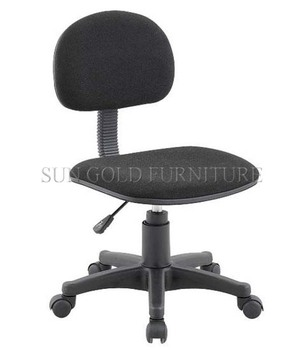 cheap fabric office chair without arm rest student chair without arm