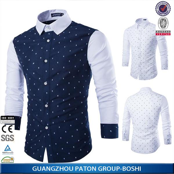 Man Shirt For 2016 New Design Cotton Slim Fit Men Casual Shirt ...