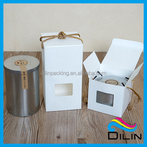 nice design high quality tin packing paper box for tin