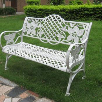 Blanc Noir Bronze En Aluminium Extérieur Décoratif De Jardin En