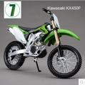 Hot sale KAWASAKI KX 450F Maisto 1 12 motorcycle model kids toy Motocross collection green Mountain