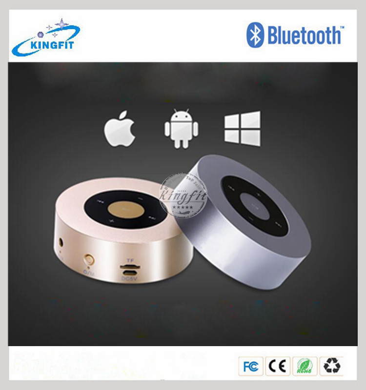 For Iphone7 Touch Screen Round Mini Wirelesss Speaker <strong>Bluetooth</strong>