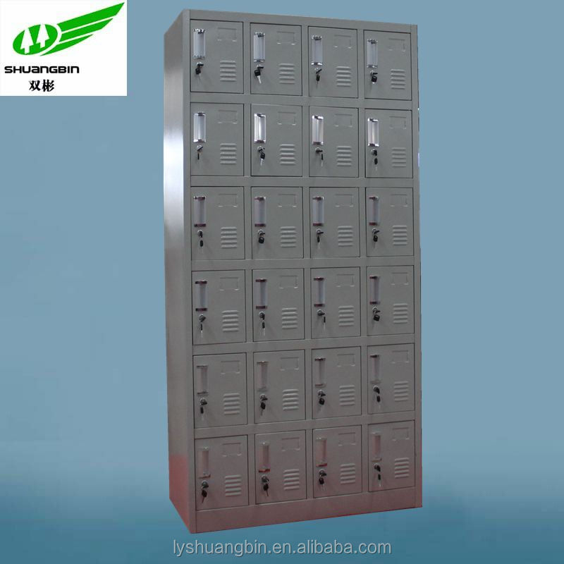 Cheap 24 Doors Waterproof Storage Cabinet Pigeon Hole