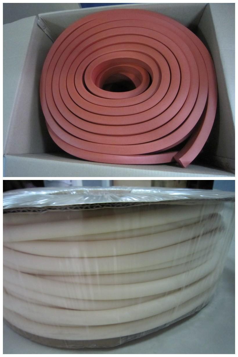 Fda Closed Cell Silicone Sponge Foam Tube Silicone Foam