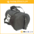 Black men fitness rolling travel duffle bag with shoe compartment