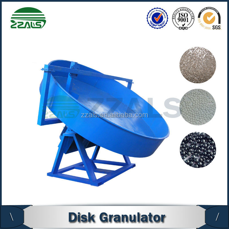Single superphosphate granulating disc