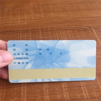 new products on china market pvc plastic photo id cards