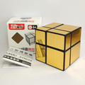 Newest ShengShou 2X2 Mirror Magic Cube Puzzle Qiyi New Thunderclap V2 3x3x3 Cube Twisty Puzzle Educational