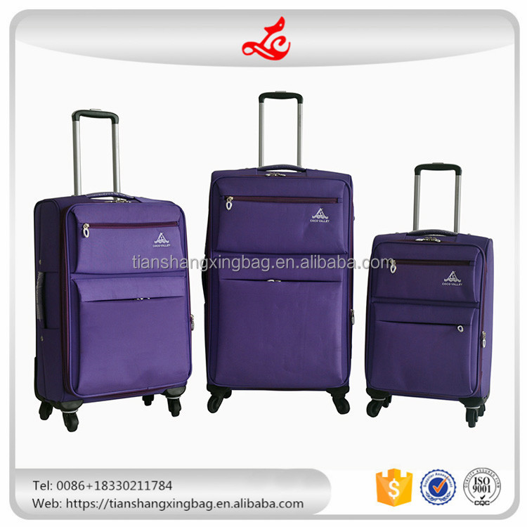 fashion trolley luggage travel bag luggage parts wholesale