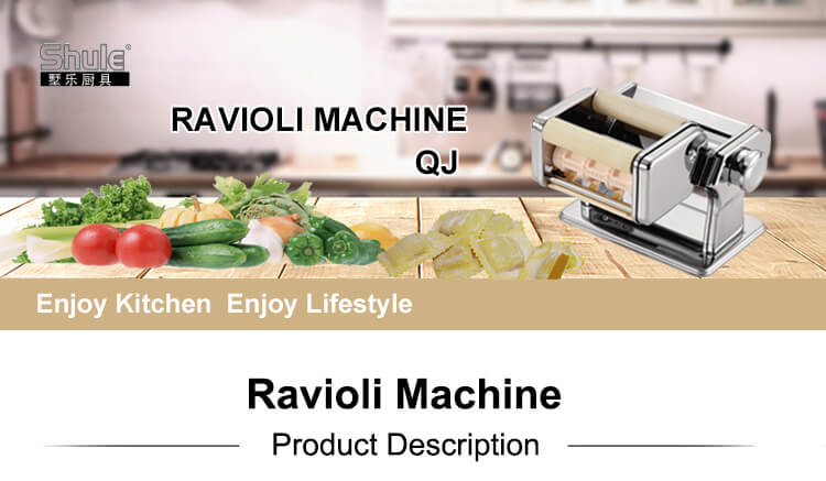 Manual Ravioli Makers 30mm Square Ravioli For Kitchen Use