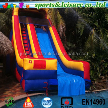 Customized Inflatable Pool Slides For Inground Pools