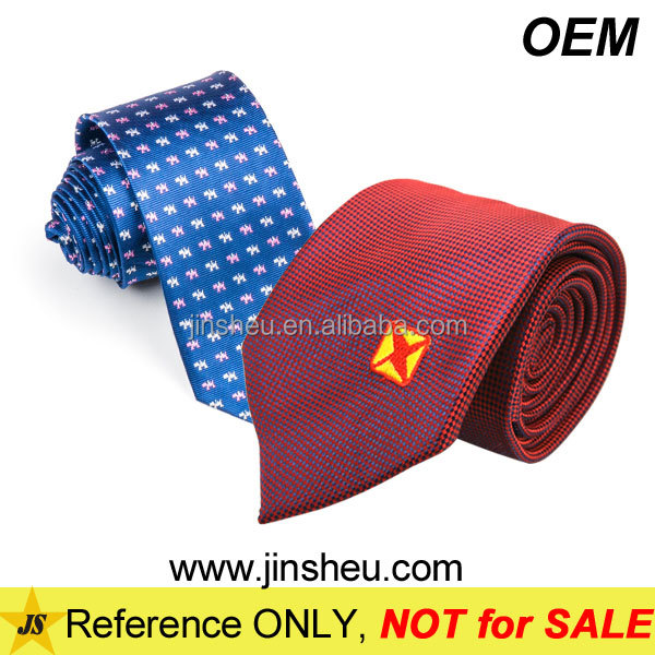 Fashion Striped Knitted Custom Logo Cheap Woven Silk Mens Neck Tie