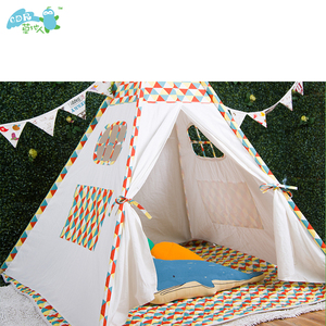 Custom Hot Sale Outdoor Kids Play Teepee Indian Tents