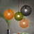 Round Ball Hemp Rope Hanging Light Big Ball Rattan Pendant Lamp For Home Indoor