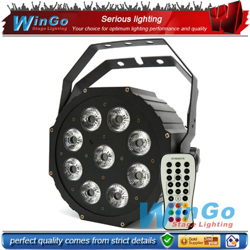 best selling party decoration disco lights sound activated mini led par stage lighting with IRC for sale