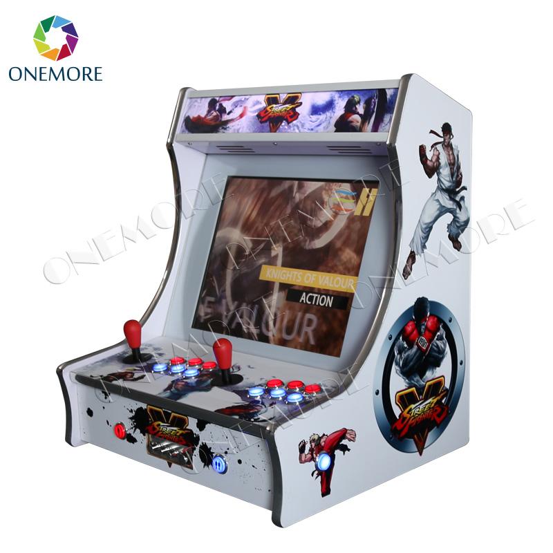 19 Inch Lcd Horizontal Screen Raspberry Pi 3 Bartop Arcade Cabinet Mini  Arcade Game Machine For Sale - Buy Bartop Arcade Cabinet,Mini Arcade Game