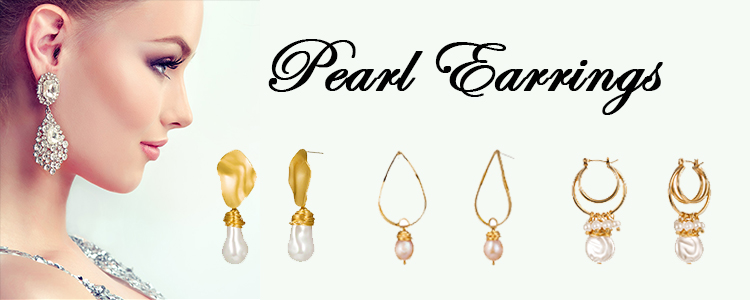 2019 wholesale fancy genuine pearl earrings pearl drop earrings
