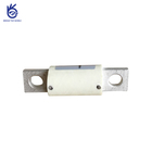 Low voltage dc porcelain fast car fuse for electric vehicle protection