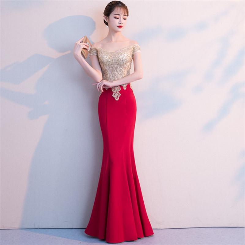 huge discount 41d91 0972d vestiti da cerimonia color oro all'ingrosso-Acquista online ...