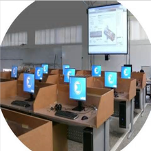 Saming E-Learning Class / Multimedia network broadcast teaching Software / digital Language Lab Software