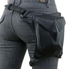 Поясная Сумка Norbinus в готическом стиле стимпанк, мужская сумка с заклепками, многофункциональная мотоциклетная поясная сумка на ремне(Китай)